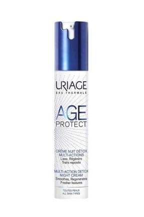 Uriage Age Protect Detox Night Cream Multi-Action 40 ml 3661434006449