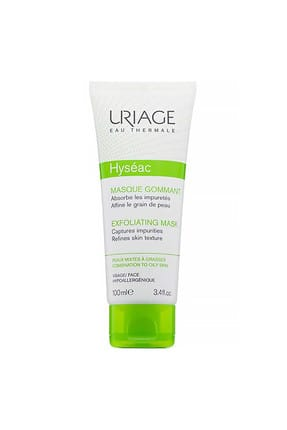 Uriage Hyseac Masque Gommant Exfoliating Mask 100 ml 3661434006227