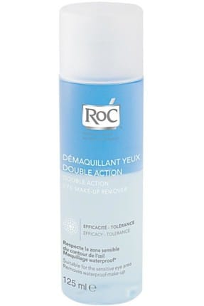 Roc Makyaj Temizleyici - Double Action Eye Make Up Remover 125 ml 3297371113027