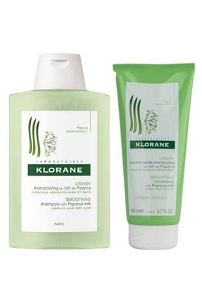 Klorane Papyrus Shampoo 200 ml & Conditioner 200 ml  3282779250344