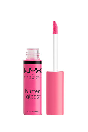 NYX Professional Makeup Dudak Parlatıcısı - Butter Gloss Strawberry Parfait 15 g 800897818456