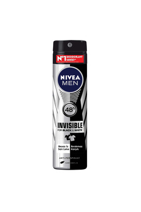 Nivea Invisible Black & White Erkek Deodorant 150 ml