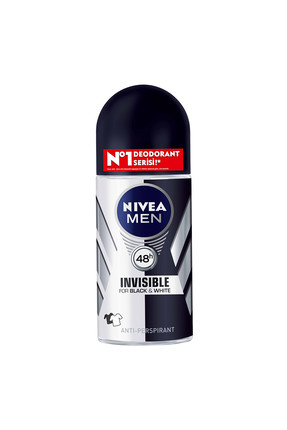 Nivea Invisible Black & White Erkek Deodorant Roll-On 50 ml