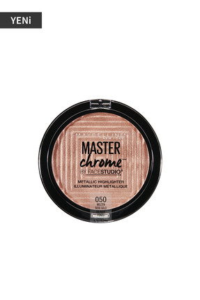 Maybelline Metalik Aydınlatıcı - Master Chrome Metallic Highlighter Molten Rose Gold 3600531440961