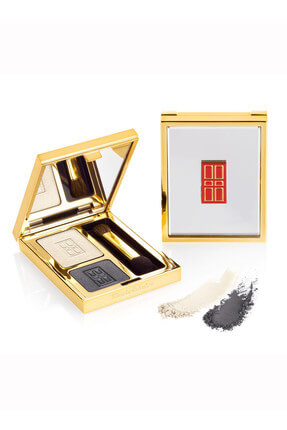 Elizabeth Arden 2'li Tekli Göz Farı - Beautiful Color Eye Shadow Duo 05 Black Tie 3.4 g 085805134396
