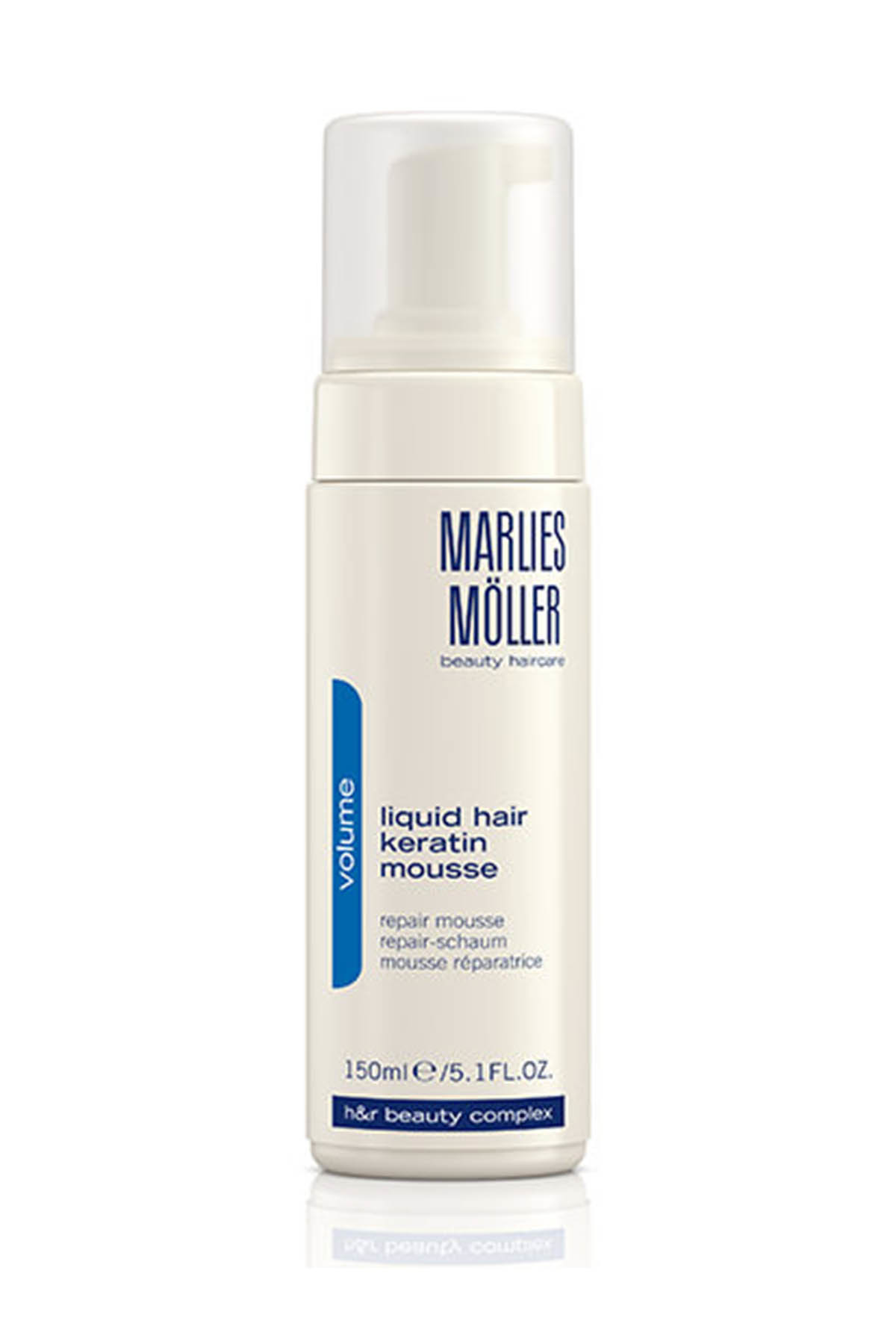 Marlies Möller Saç Köpüğü   Liquid Hair Keratin Mousse 150 Ml