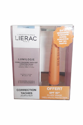 Lierac Leke Karşıtı Bakım Kremi - Lumilogie Day & Night Dark Spot Correction 30 ml 3508240004989