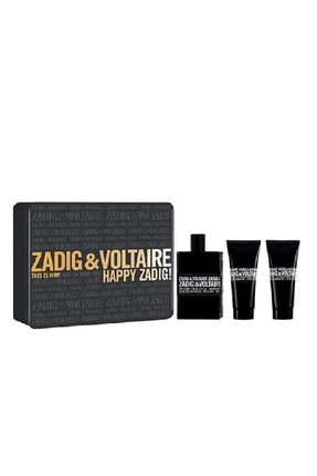 ZADIG & VOLTAIRE This is Him Edt 100 ml + 2*75 ml Duş Jeli Erkek Parfüm Seti 3423474898855
