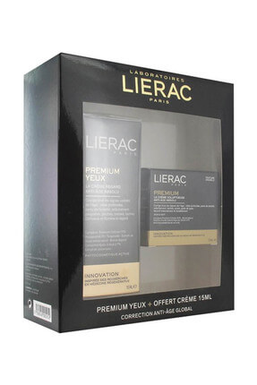 Lierac Premium Göz Çevresi Kremi 15 ml + Premium The Voluptuous Cream 15 ml 3508240005252