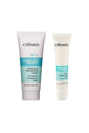 Cosmed Benefit Matifying and Rebalancing Cream SPF15 50 ml + Benefit Spot Control Gel 20 ml 8699292992289