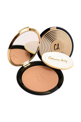 Catherine Arley Gold Pudra - Gold Compact Powder 104 8691167474852