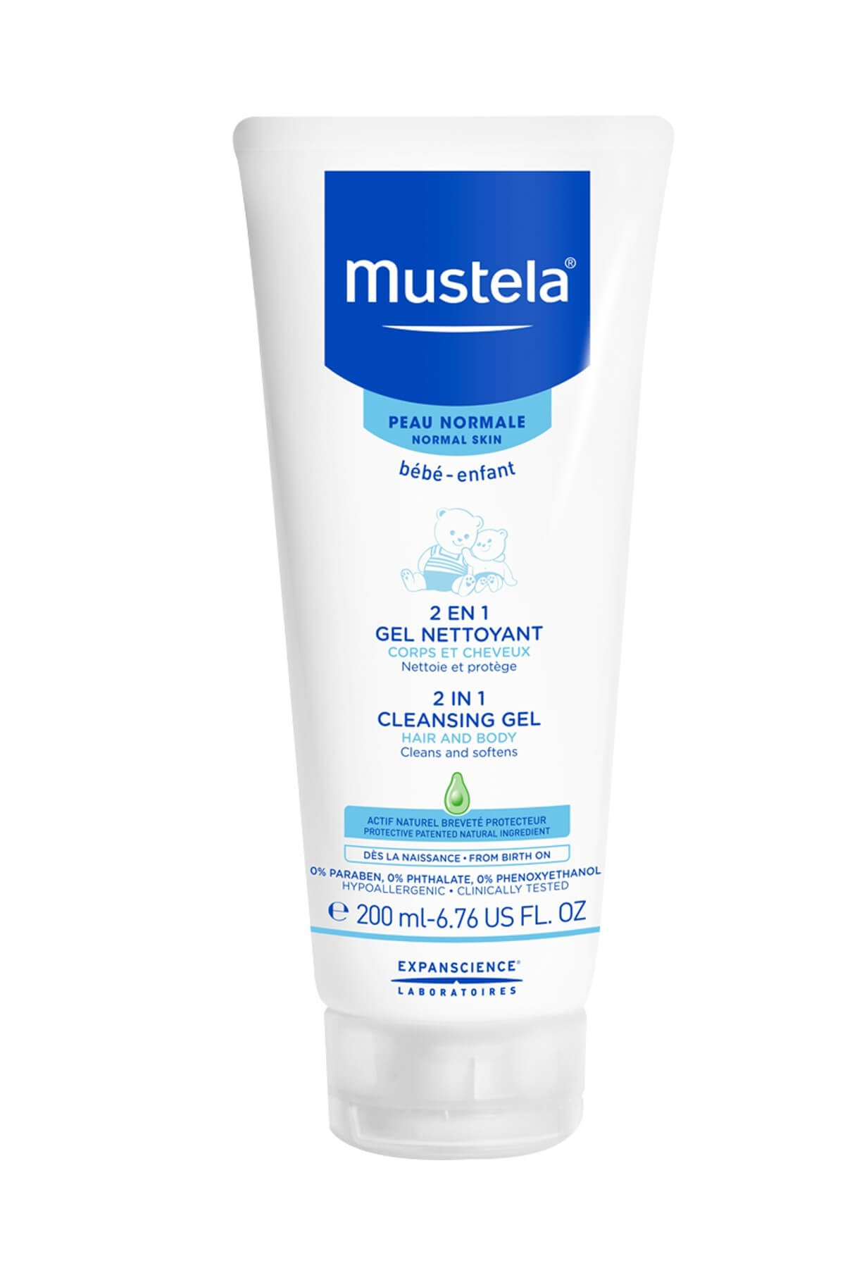 Mustela 2 İn 1 Hair Body Wash