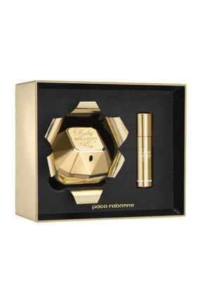 Paco Rabanne Lady Million Xmas Collector Edp 80 ml + Travel Spray 10 ml Kadın Parfüm Seti 3349668565016