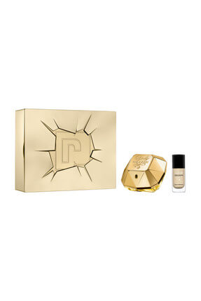 Paco Rabanne Lady Million Edp 50 ml + Oje Kadın Parfüm Seti 3349668567973