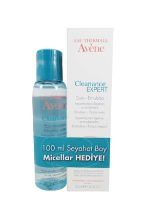 Avène Cleanance Expert Emulsion 40 ml & Micellar Solüsyon 100 ml 3282779128063