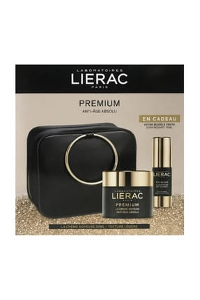 Lierac Premium The Silky Cream 50ml Premium Eye Care 15 ml (Çantalı) 3508240006808
