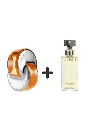 Bvlgari Omnia Indian Garnet Edt 65 ml + Calvin Klein Eternity Edp 100 ml Kadın Parfüm Seti 483320452505