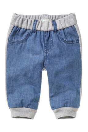 Benetton Denim Unisex Bebek Pantolon