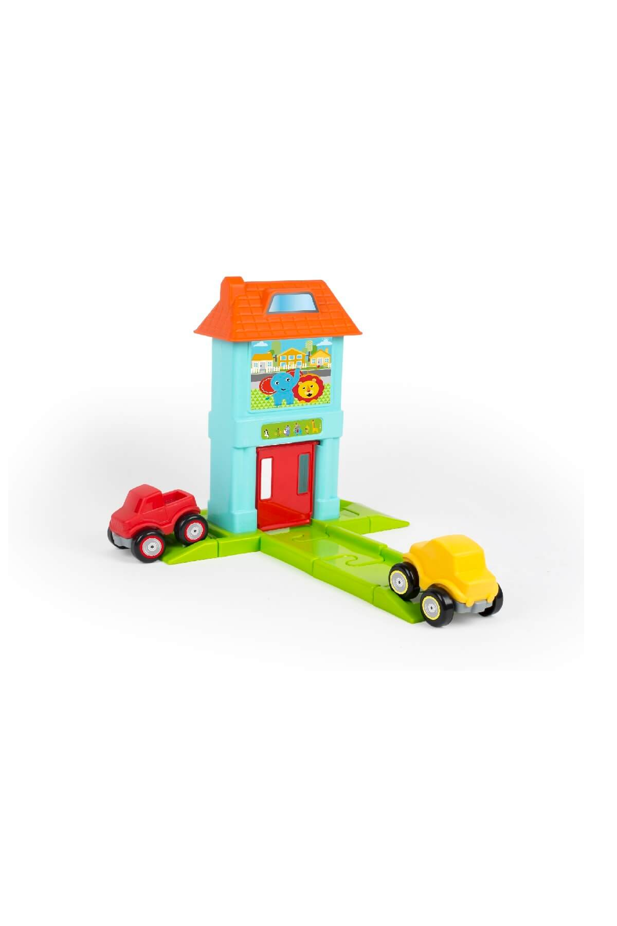 Fisher Price Fısher Prıce Roadway Set With House   G