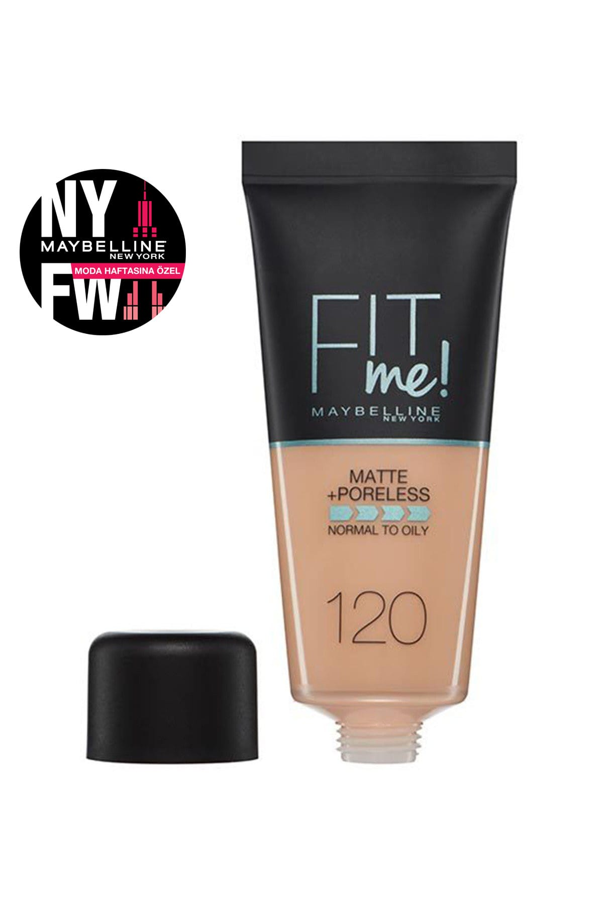 Maybelline New York Fondöten – Fit Me Matte + Poreless Foundation 120 Classic Ivory 30 Ml 3600531324520 – 29.99 TL