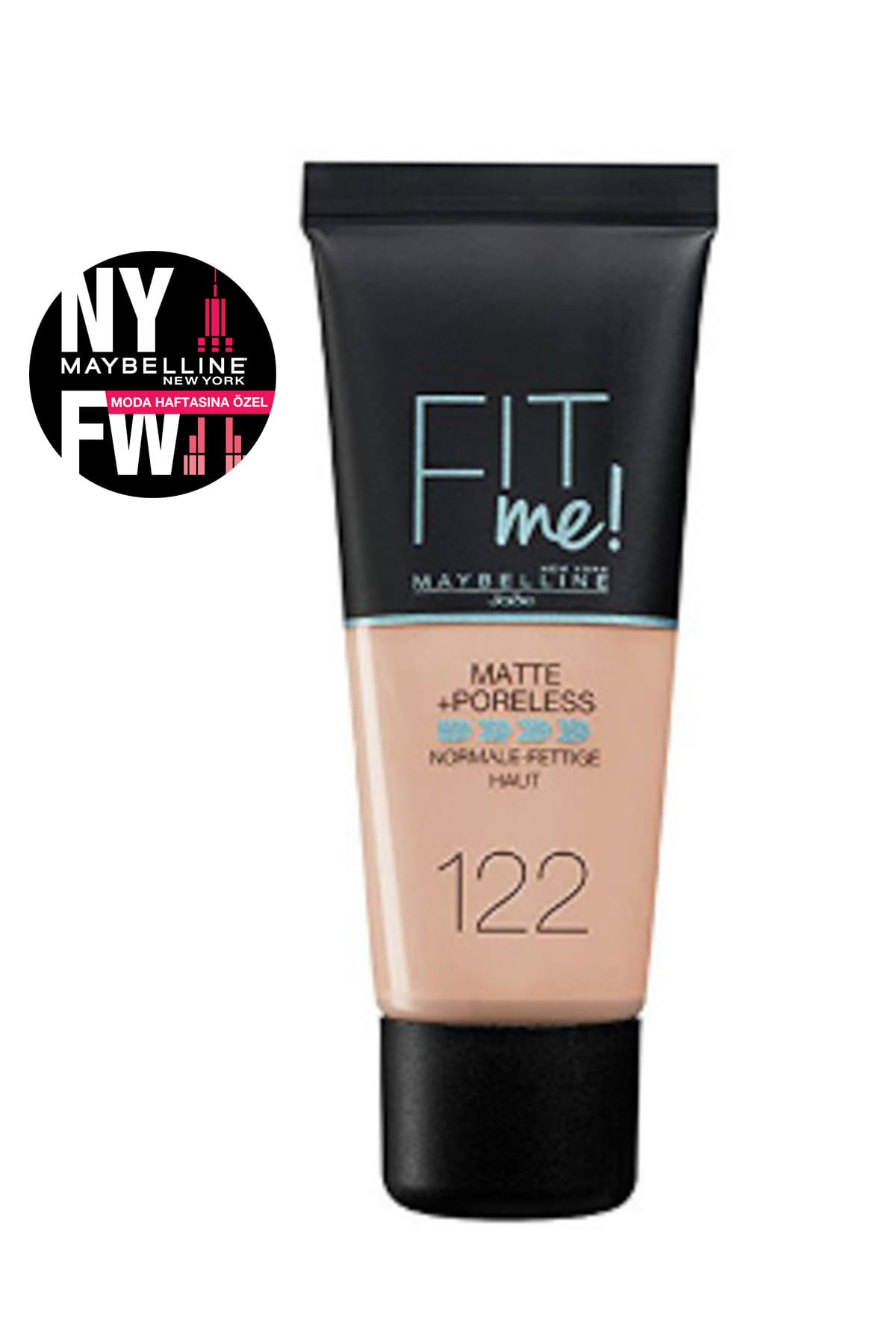 Maybelline New York Fondöten – Fit Me Matte + Poreless Foundation 122 Creamy Beige 30 Ml 3600531369453 – 40.57 TL