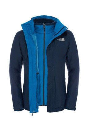The North Face The North Face Evolution Iı Triclimate Erkek Mont Lacivert