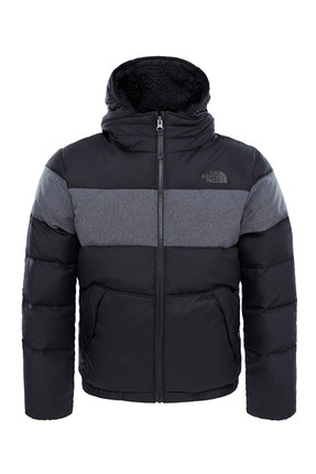 The North Face The North Face B Moondoggy 2 Down Hoodie Çocuk Mont Siyah