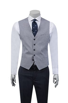 D's Damat Ds Damat Yelek (Slim Fit)
