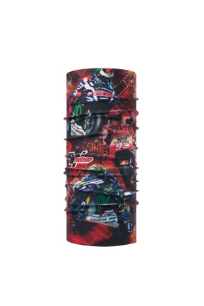 BUFF Unisex Wheelie Red Bandana 115424.425.10