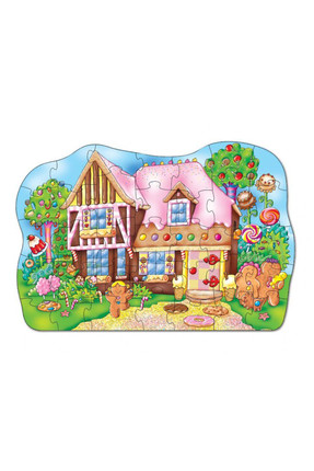 Orchard Orchard Puzzle Gingerbread House 3-6 Yaş /