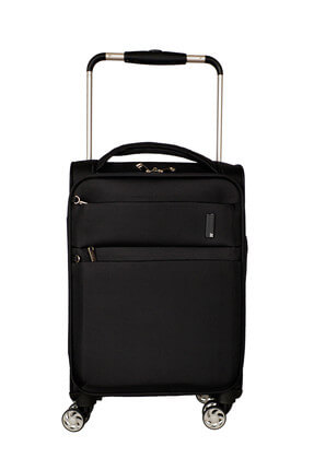 ITLUGGAGE Siyah Unisex Kabin Boy Valiz IT2058-S