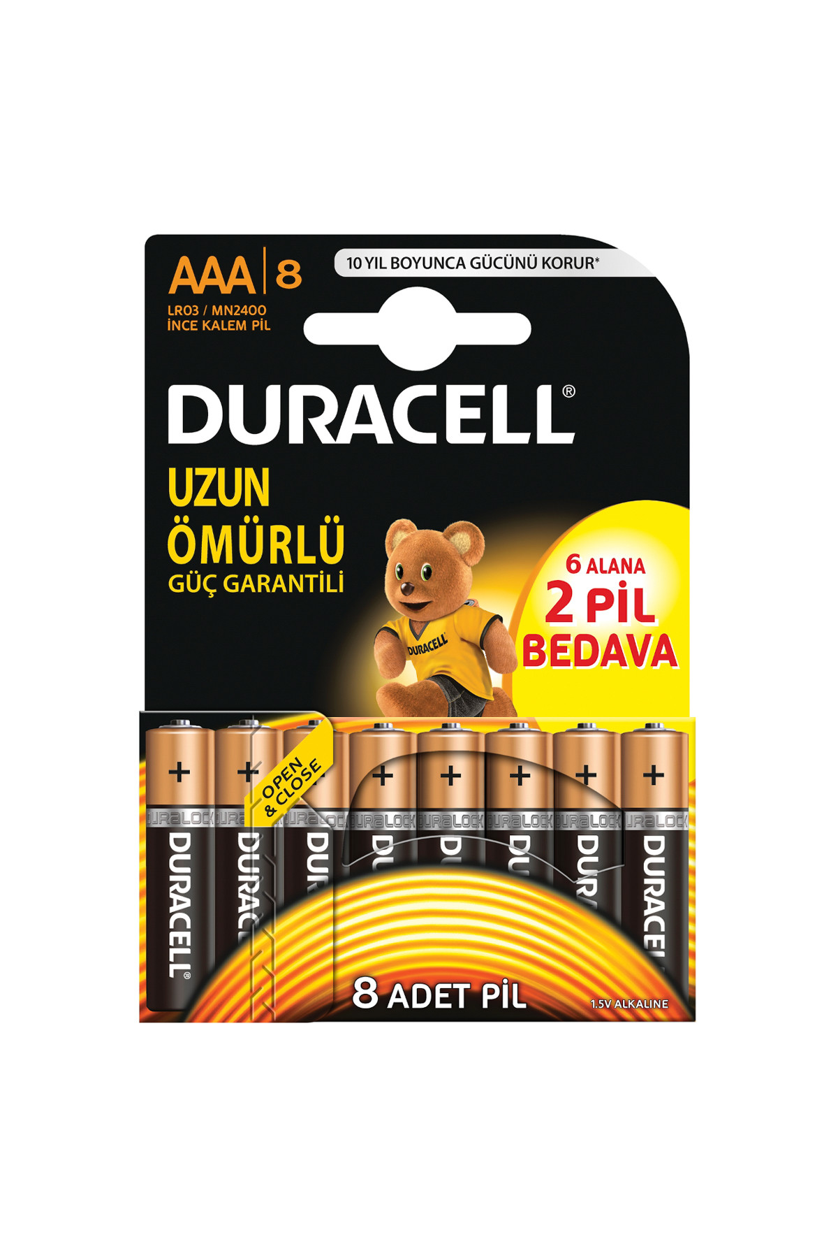 Duracell Pil İnce