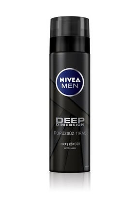 Nivea Tıraş Köpüğü Deep Dimension 200 ml