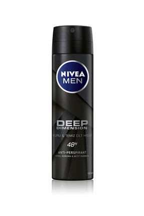 Nivea Deodorant Deep Dimension 150 ml Erkek Deodorant