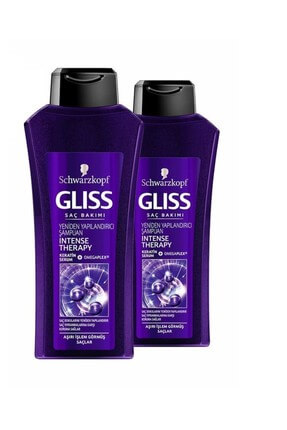 Gliss Intense Therapy Şampuan 525 ml  x 2 Adet