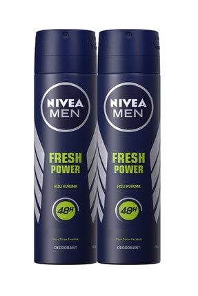 Nivea Fresh Power Erkek Deodorant 150 ml 2'Li