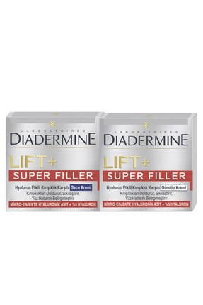 Diadermine Lıft+Superfıller Gece 50 ml + Gündüz Kremi 50 ml