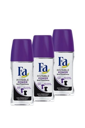 Fa Sport Invisible Roll-On  50 ml x 3 Adet