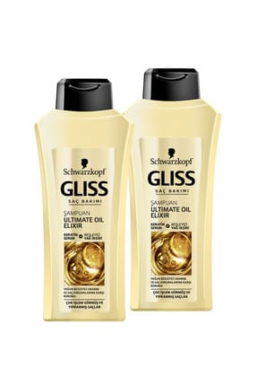 Gliss Ultimate Oil Elixir Şampuan 525 ml x 2