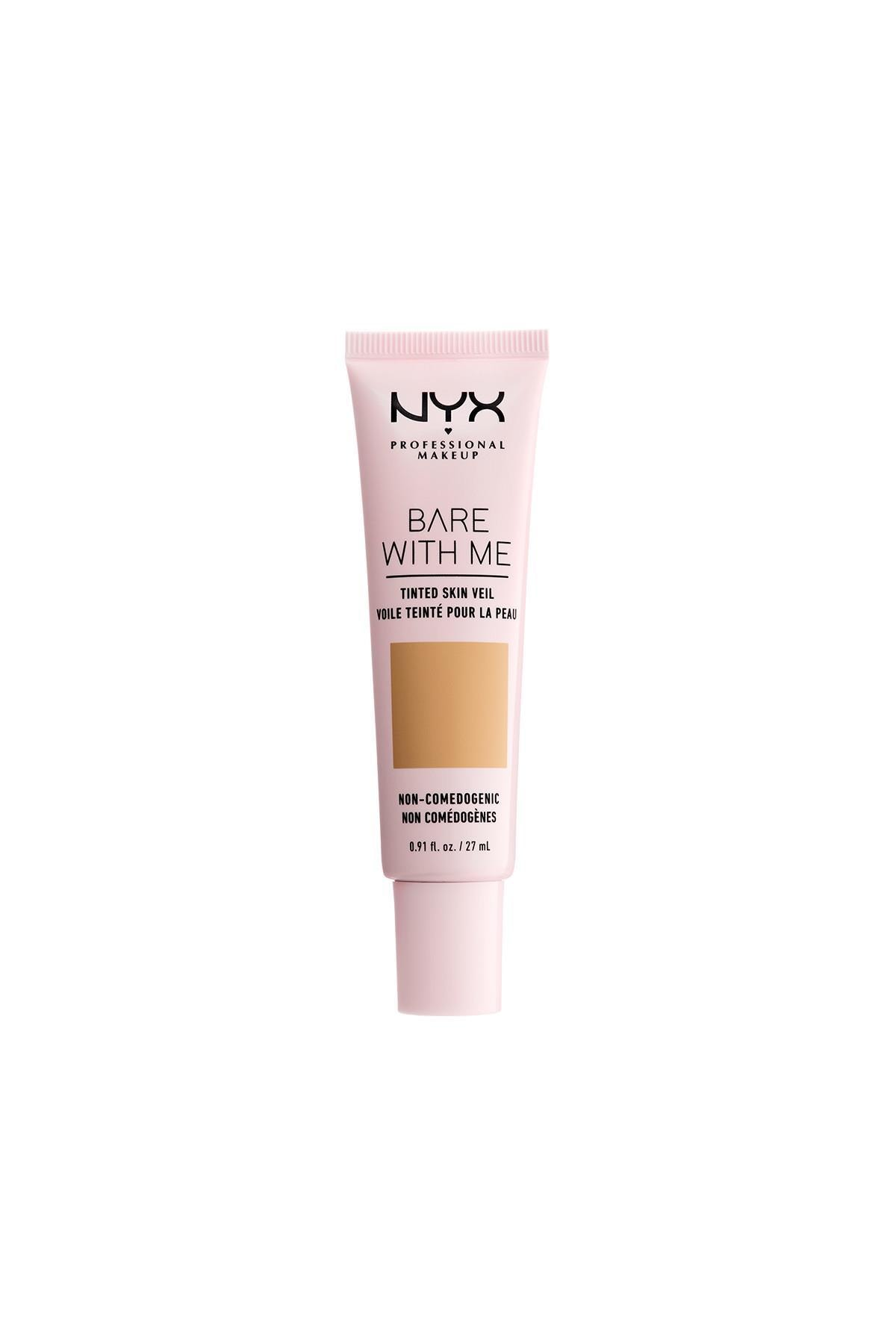 NYX Professional Makeup Fondöten - Bare With Me Tinted Skin Veil Beige Camel 27 ml 800897188252