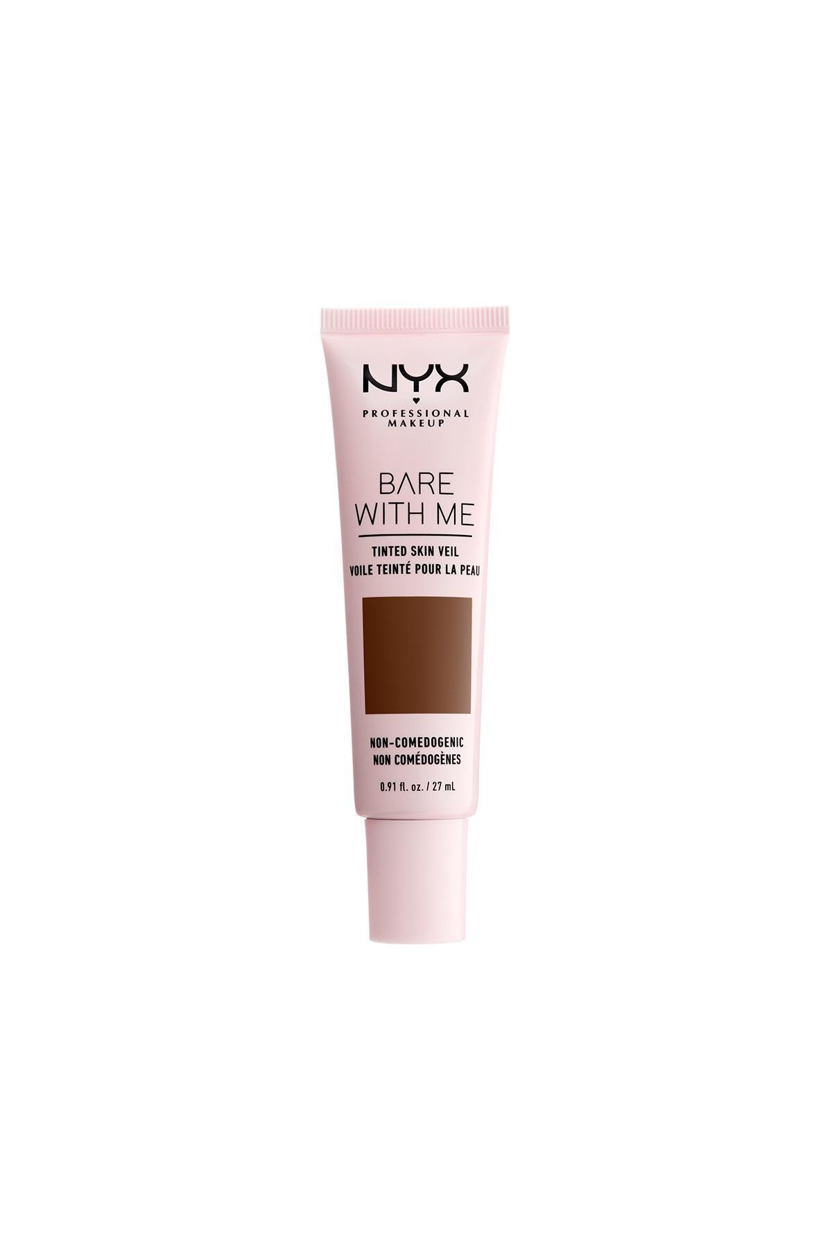NYX Professional Makeup Fondöten - Bare With Me Tinted Skin Veil Deep Rich 27 ml 800897188313