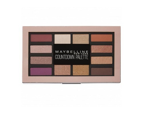 Maybelline Eye Shadow Countdown Palette 01 Holiday