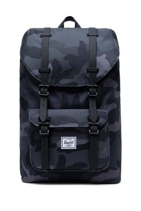 Herschel Unisex Cüzdan - Little America Mid. Vol. Night Camo  - 10020-02992-OS