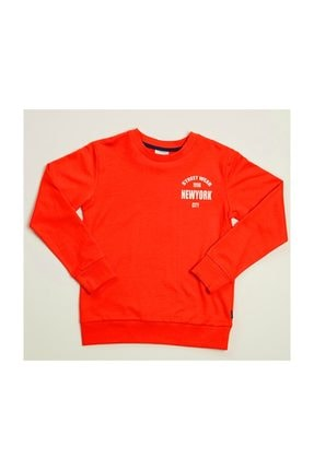 Wonder Kids Wonder Kids New York Turuncu Sweat