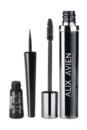 Alix Avien Volumatic Maskara 10 Ml +high Shine Eyeliner