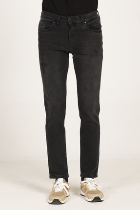 VENA Edward Fashıon Black Denim Pantolon