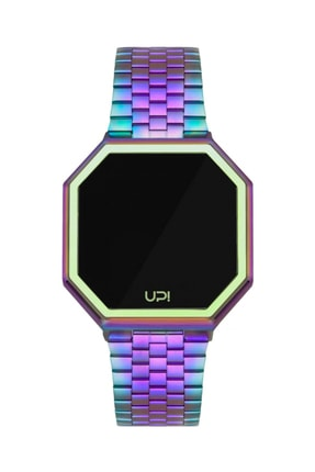 UpWatch Unisex Kol Saati 2UPWS2018191 EDGE COLORFUL AND COLORFUL STRAP