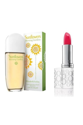 Elizabeth Arden Sunflowers Morning Garden Edt 100 ml Kadın Parfüm+Stick 3.7 gr Honey 558956116456