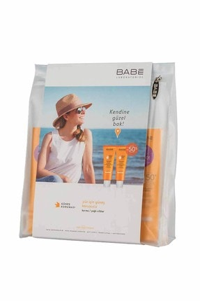 Babe Facial Oil Free Sunscreen SPF50 50ml Kofre 8437014389654