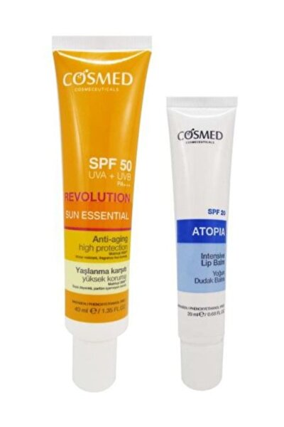 Sun Essential SPF50 Anti Aging Cream 40 ml Set 8699292992647